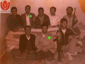 شهید مزدستان و شهید محمدتقی فیاضیان